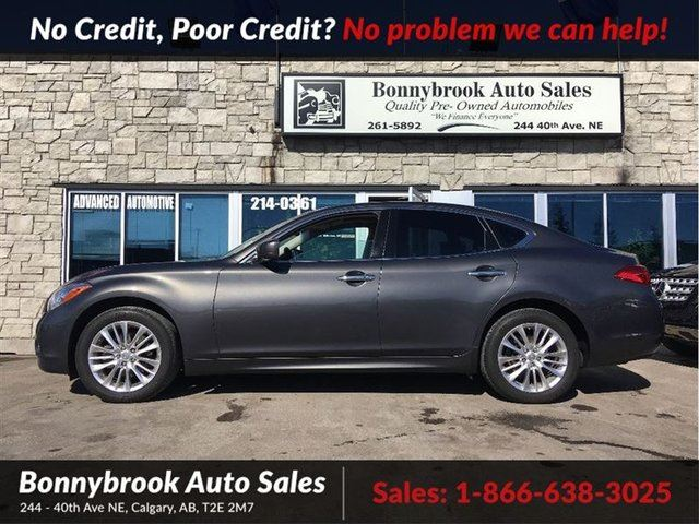2012 INFINITI M37 X Leather w/navigation awd p/sunroof in Calgary, Alberta