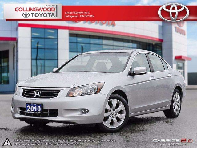 2010 Honda Accord EX-L V6 LEATHER AND MOONROOF in Collingwood, Ontario