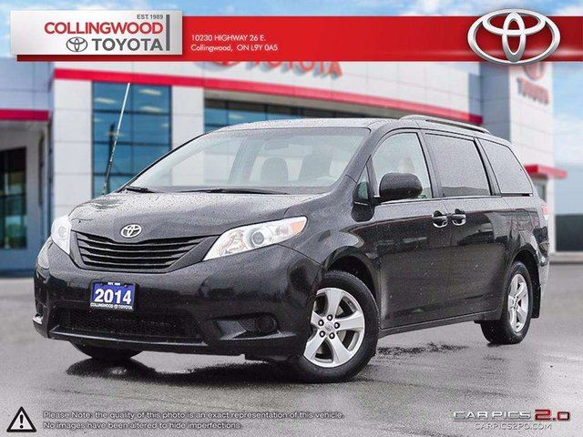 2014 Toyota Sienna 7 PASSENGER FWD ONE OWNER in Collingwood, Ontario