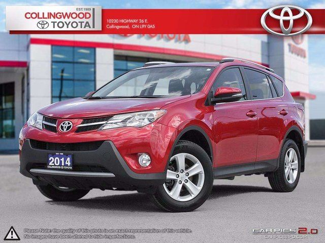 2014 Toyota RAV4 XLE FWD SOLD AND SERVICED HERE in Collingwood, Ontario