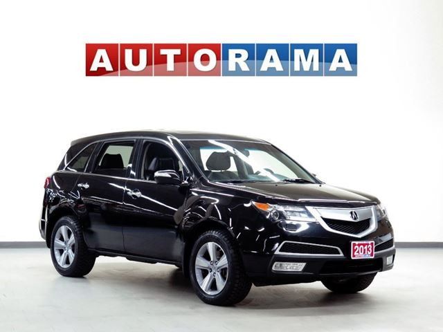 2013 Acura MDX TECH PKG NAVI LEATHER SUNROOF 7 PASS BACKUP CAM in North York, Ontario