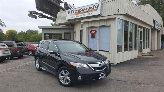 2013 ACURA RDX Technology Package - NAV! BACK-UP CAM! in Kitchener, Ontario