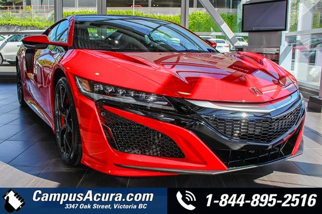 2017 Acura NSX TECH PKG w CERAMIC BRAKES in Victoria, British Columbia