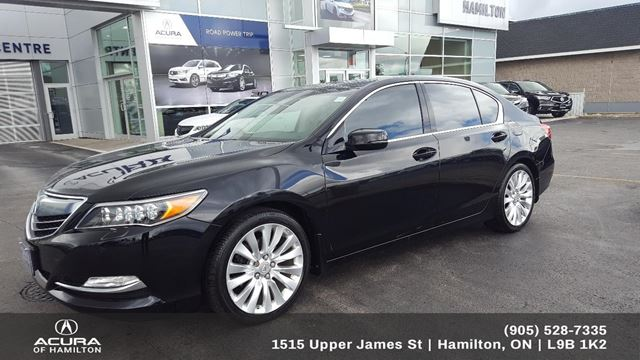 2014 Acura RLX Base P-AWS ELITE in Hamilton, Ontario