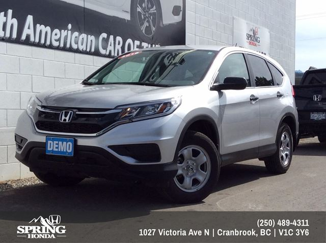 2016 Honda CR-V LX Save over $5000 - $177 Bi-Weekly in Cranbrook, British Columbia