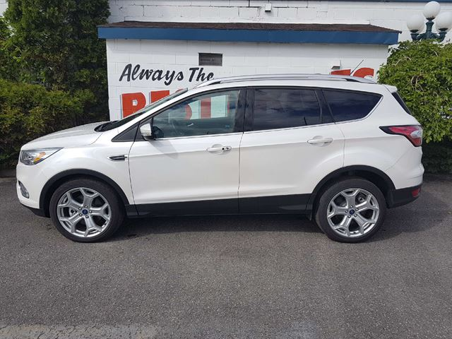 used 2017 ford escape titanium oshawa. Black Bedroom Furniture Sets. Home Design Ideas