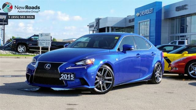 2015 LEXUS IS 350 FSPORT, NAV, NO CLAIMS, 2SETS OF RIMS/ TIRES in Newmarket, Ontario