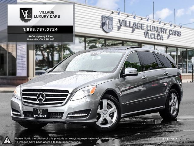 2011 Mercedes Benz R Class Navigation Low Mileage