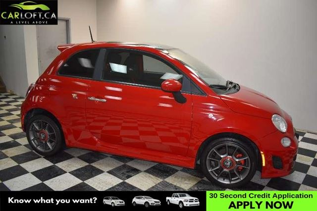 2013 FIAT 500 X ABARTH MANUAL - LOW KMS**SUNROOF**BLUETOOTH in Kingston, Ontario
