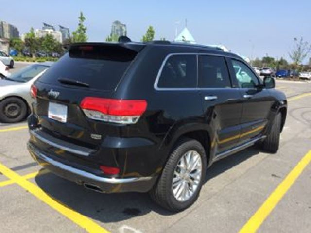 2017 JEEP Grand Cherokee Summit 4WD in Mississauga, Ontario