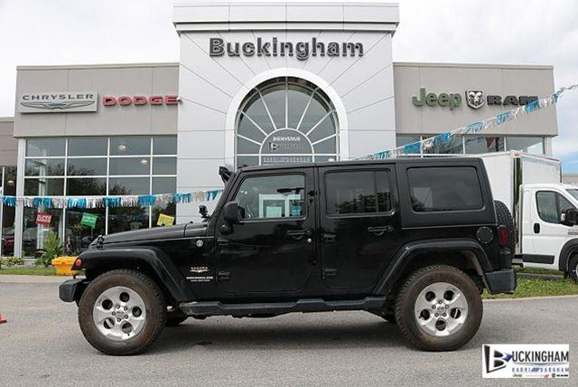 2015 JEEP Wrangler Unlimited Sahara in Gatineau, Quebec