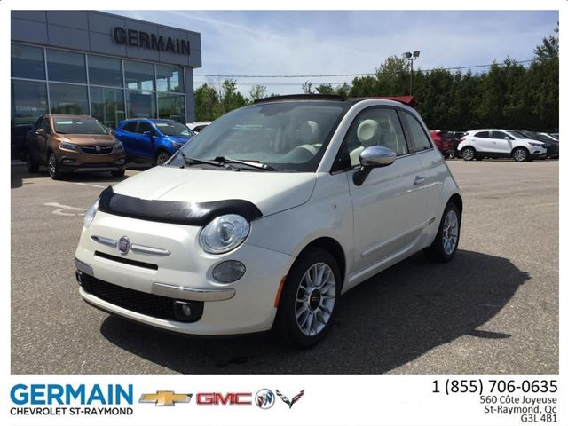 2012 Fiat 500 Gucci in Saint-Raymond, Quebec