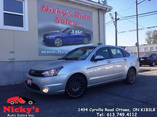 2010 FORD Focus SES - LEATHER - ALLOY WHEELS - SUNROOF - MICROS in Ottawa, Ontario