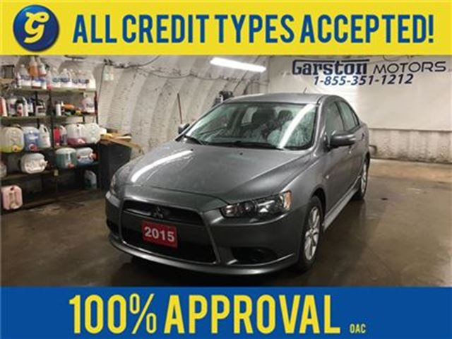 2015 MITSUBISHI LANCER SE*CVT*PHONE CONNECT*TRACTION CONTROL*HEATED SEATS in Cambridge, Ontario