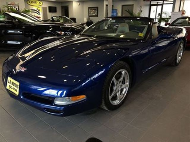 2004 Chevrolet Corvette Manual, Leather, Convertible, Only 79, 000km in Burlington, Ontario