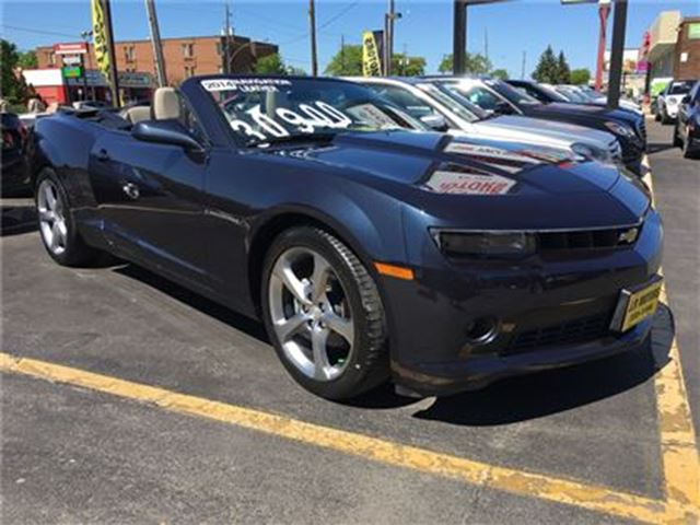 2014 Chevrolet Camaro 2LT, Automatic, Leather, Only 5,000km in Burlington, Ontario