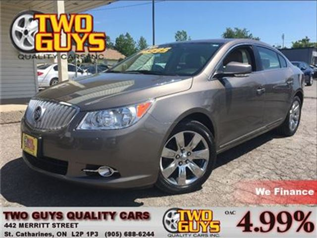 2012 BUICK LACROSSE Convenience Group NICE LOCAL TRADE IN! in St Catharines, Ontario