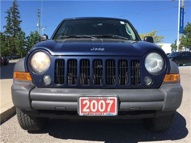 2007 Jeep Liberty Sport - ROOF RAILS, CRUISE CONTROL in Scarborough, Ontario