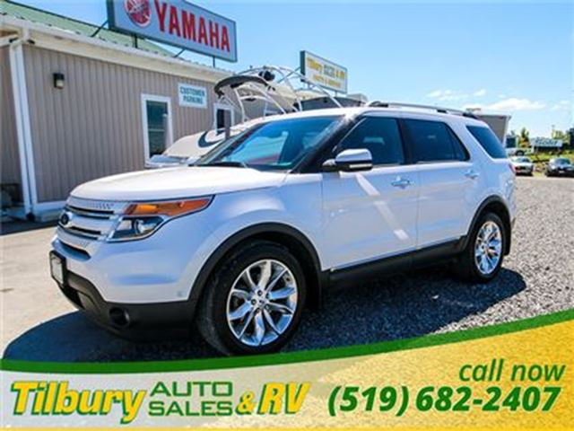 2013 Ford Explorer Limited **Fully Loaded**3rd Row Seating** in Tilbury, Ontario