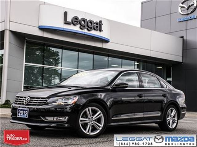 2012 Volkswagen Passat 3.6L DSG Highline in Burlington, Ontario