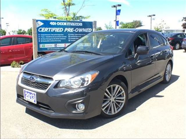 2013 SUBARU Impreza 2.0i Sport Package,AWD, Alloy Wheels, SUNROOF in Mississauga, Ontario