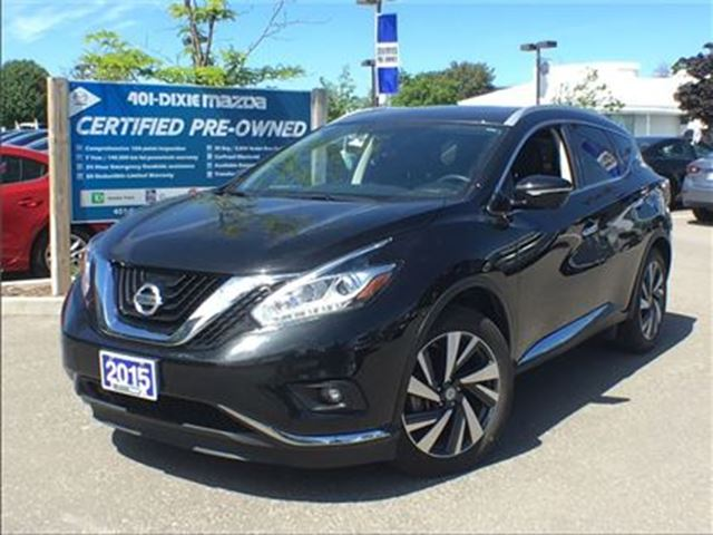 2015 NISSAN Murano Platinum, LEATHER, ALLOY WHEELS, NAVIGATION in Mississauga, Ontario