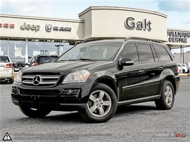 2008 MERCEDES-BENZ GL-CLASS LEATHER   SUNROOF   ALLOYS in Cambridge, Ontario