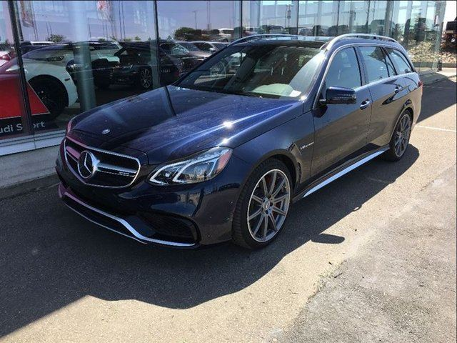 2015 Mercedes-Benz E-Class S-Model 4MATIC Wagon in Edmonton, Alberta