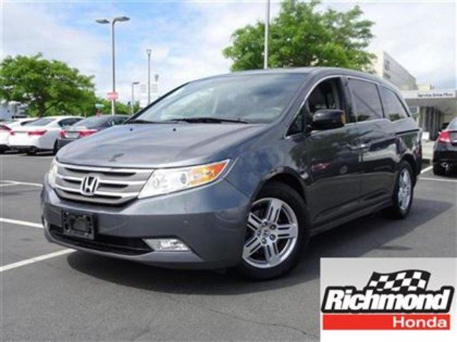 2013 Honda Odyssey Touring! Honda Certified Extended Warranty to 120 in Richmond, British Columbia