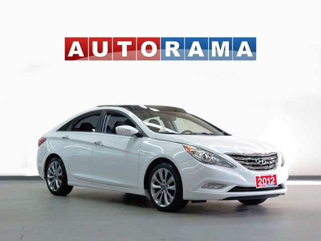 2012 Hyundai Sonata LIMITED PKG LEATHER SUNROOF in North York, Ontario
