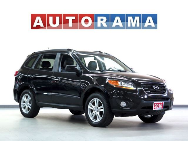 2010 Hyundai Santa Fe LIMITED PKG LEATHER SUNROOF 4WD in North York, Ontario