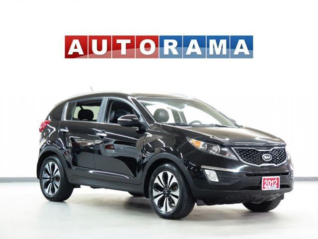 2012 Kia Sportage LIMITED PKG NAVIGATION LEATHER SUNROOF AWD in North York, Ontario