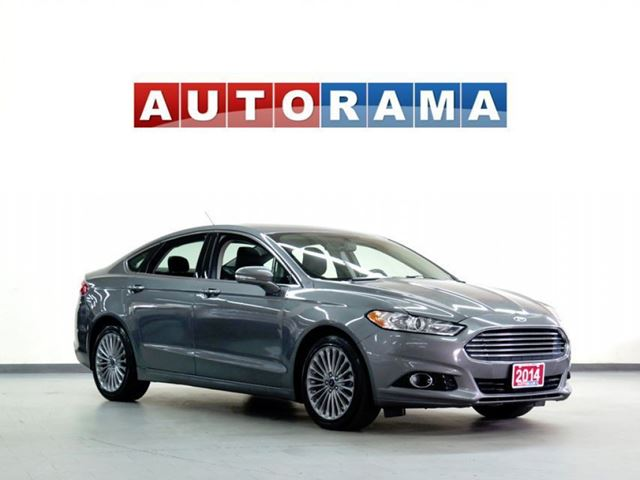 2014 Ford Fusion TITANIUM PKG BACKUP CAM AWD LEATHER SUNROOF in North York, Ontario