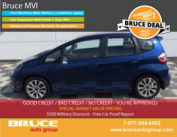 2013 Honda Fit Sport 1.5L 4 CYL I-VTEC AUTOMATIC FWD 5D HATCHB in Middleton, Nova Scotia