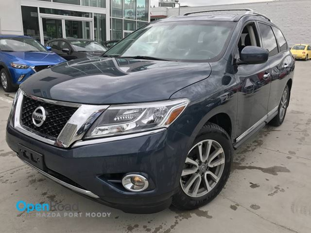 2014 Nissan Pathfinder S A/T Bluetooth USB AUX Leather Cruise Control  in Port Moody, British Columbia