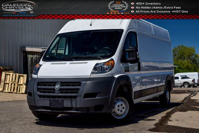 2016 RAM PROMASTER 2500 High Roof 159WB Pwr Windows Pwr Locks Keyless Entry in Bolton, Ontario
