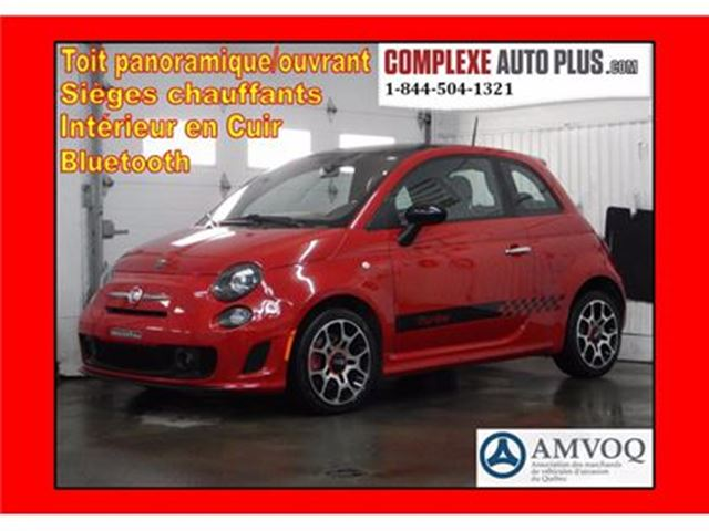 2013 FIAT 500 Sport Turbo *Super look! Cuir,Toit pano. in Saint-Jerome, Quebec