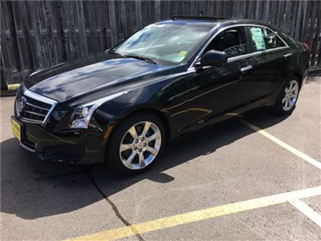 2014 CADILLAC ATS 2.0L Turbo, Leather, Sunroof, Only 56, 000km in Burlington, Ontario