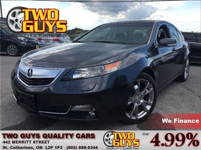 2013 ACURA TL SH-AWD ADVANCE & TECH PKG/ LEATHER/ NAV /AWD in St Catharines, Ontario