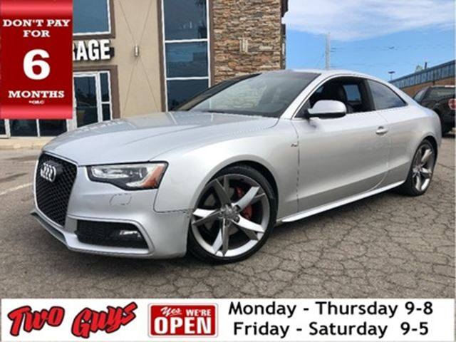 2013 AUDI A5 2.0T PRESTIGE S LINE GROUP / NAV / LEATHER / ROOF in St Catharines, Ontario