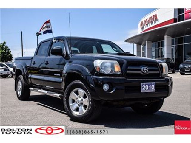 2010 Toyota Tacoma 4x4 Dbl Cab V6 5A Tonneau Cover, Running Boards, G in Bolton, Ontario