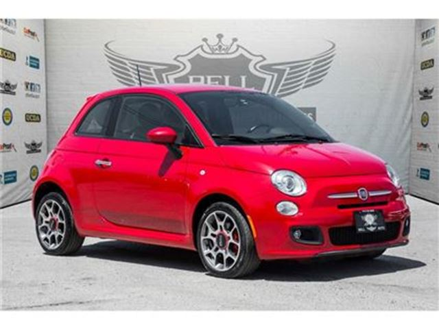2012 FIAT 500 SPORT LEATHER POWER GROUP in Toronto, Ontario