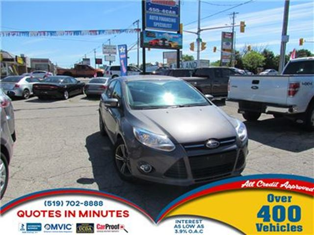 2014 Ford Focus SE   HEATED SEATS   HATCHBACK   ALLOYS in London, Ontario