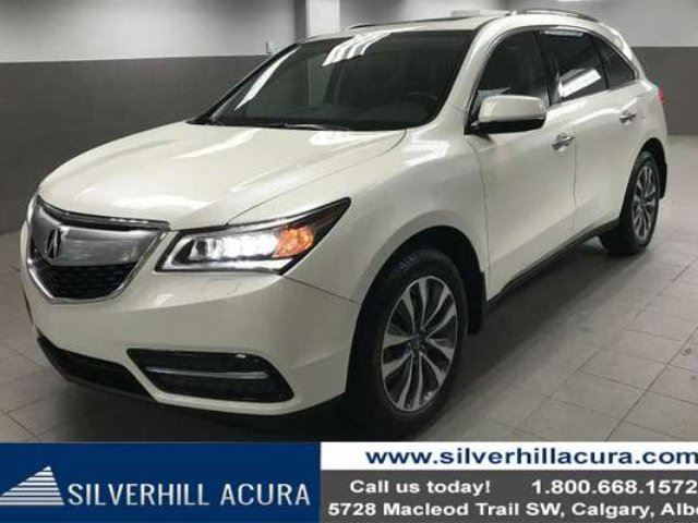 2014 ACURA MDX Navigation Package SH-AWD *New Tires & Brakes* in Calgary, Alberta