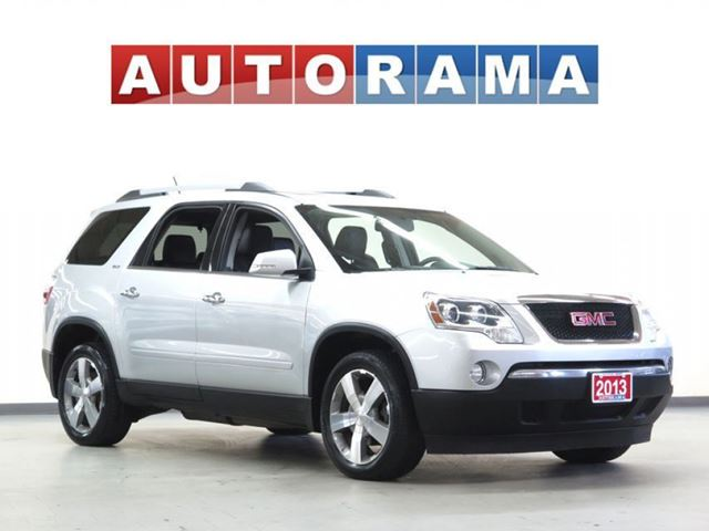 2011 GMC Acadia SLT LEATHER PAN SUNROOF 4WD 7 PASSENGER in North York, Ontario