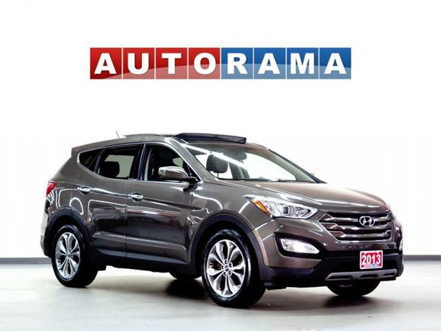 2013 Hyundai Santa Fe LIMITED PKG NAVIGATION LEATHER PAN SUNROOF 4WD in North York, Ontario