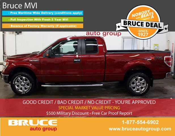 2014 FORD F-150 XTR 5.0L 8 CYL AUTOMATIC 4X4 SUPERCAB in Middleton, Nova Scotia