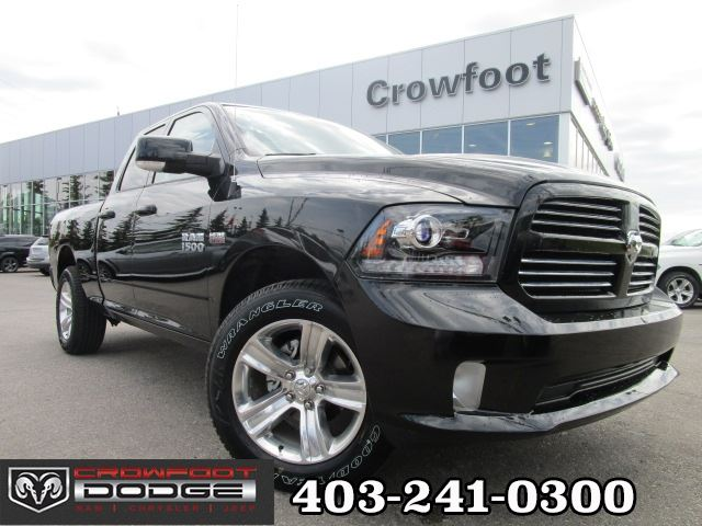 2017 ram 1500 sport quadcab 4x4 black crowfoot dodge. Black Bedroom Furniture Sets. Home Design Ideas
