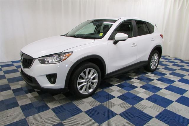 2014 MAZDA CX-5 GT AWD/BACKUP CAM/SUNROOF/LEATHER in Winnipeg, Manitoba