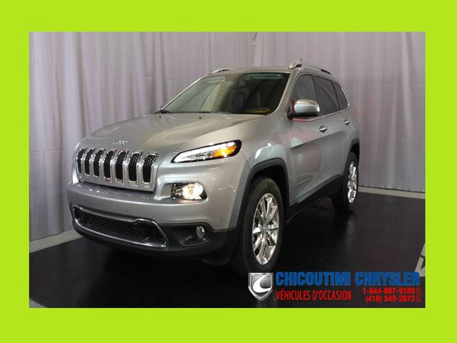 2016 Jeep Cherokee Limited 4x4 in Chicoutimi, Quebec